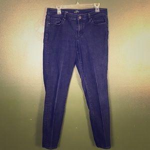 LOFT Modern Skinny Blue Jean